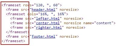 фреймы в коде сайта